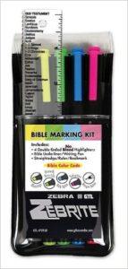 Zebra Zebrite Bible Highlighters